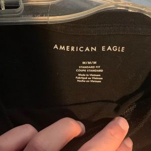 American Eagle Outfitters Tops - Black long sleeve American eagle shirt